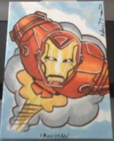 IronMan Trading card by RobTorres