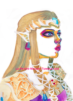 Princess Zelda by petite-nugget
