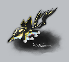 SHINY Primal Kyogre by delgalessio