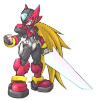 Rockman ZX :: ONE ZERO :: by Zero-Sphinx