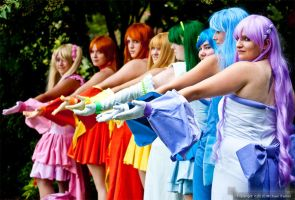 Mermaid Melody Princesses by StrawberryWaltz