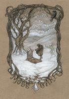 Funeral tree over Moss Oak, Strange and Norrell by BohemianWeasel
