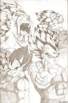 Vegeta collage by eternal-rivalry