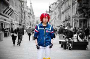 All the way in Battery City - Party Poison Cosplay by Gaze-Chibi