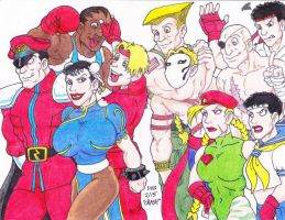 Street Fighter Pause by Crash2014
