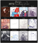 2016 summary of art by frostious