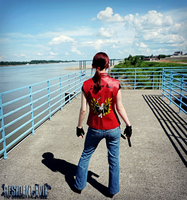 Rockfort's Prisoner-Claire Redfield Cosplay by Hamm-Sammich