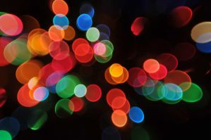 Bokeh Texture 9 by LDFranklin