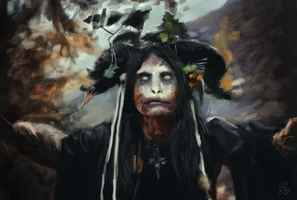 Forest Witch /study by RGBfumes