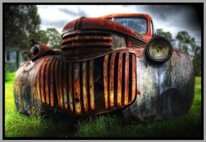 Out to Pasture - HDR by RoastSpudz