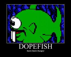 Poster - DOPEFISH by E-n-S