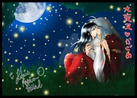 :.OldArt-InuxKag - Firefly Night.: by HokoriCupcake