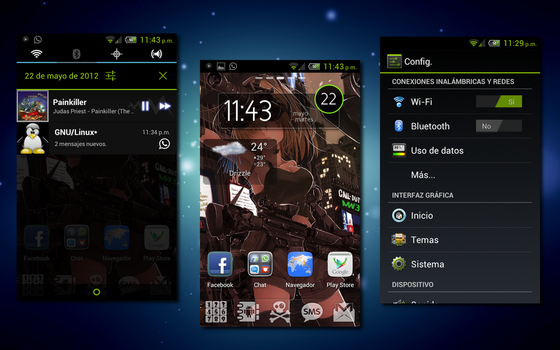Android Cm9 by amar3tt0