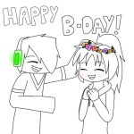 GIFT: Flower crowns for everyone! by Gameaddict1234