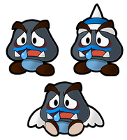 PM14: Achoomba Family by The-PaperNES-Guy