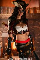 Bilgewater Katarina Cosplay. League of Legends by MorganaCosplay
