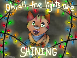 .:Oh, All The Lights Are Shining:. by mossaroo