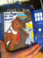 Dr whooves birthday card for a friend part 2 by autumwind