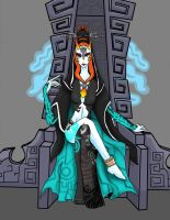All Hail Princess Midna by freak4zelda