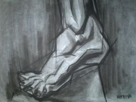 Life Drawing Study 1 by madmike58