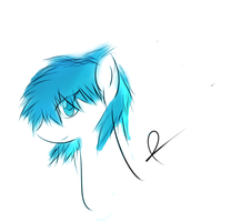 Blue Gale head sketch by jojafnot