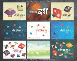 Dashain wallpaper greetings by lalitkala