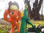 :Commission: Firemission - Friendship 2 by dustysculptures