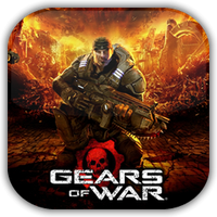 Gears of War Game Icon by Wolfangraul
