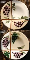 Glass Fusing: Grapes by Mysticalpchan