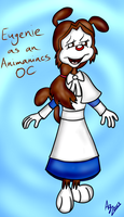 Eugenie as an Animaniacs OC by Agetian