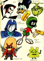 Evil Cartoon Characters 3 by PatrickJoseph