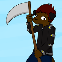 I Have A Scythe by BuizelKnight