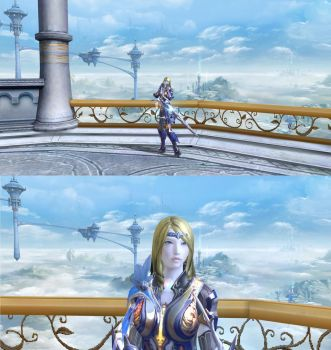 Celes Chere in Aion #11 by fallenRazziel