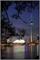 From Toronto Island by Rebacan