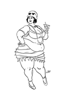 Flapper Fatty Nico by Idle-Minded
