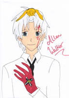 Allen Walker by DragonprotectorRyuu