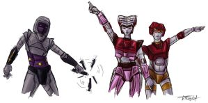 G1 Gals 5 Nightbird and Nancy by SachiAmi