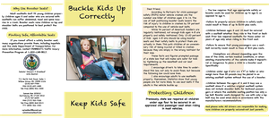 Buckle Kids up Correctly Brochure #4003 by RikusOreos
