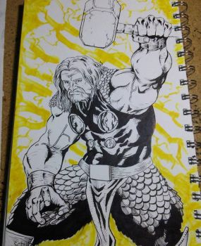 The Mighty Thor by zedricpaul