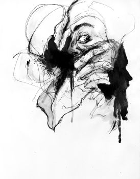 inside gray eyes by agnes-cecile