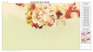 wicked my dear by dannielle-lee