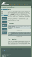 dA V6 Journal CSS by capncraka
