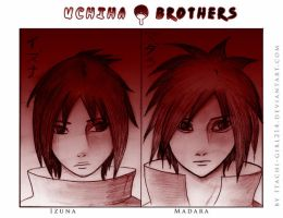 Uchiha - Madara and Izuna by Itachi-girl214
