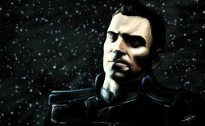 Mass Effect 3: Kaidan by Splintter