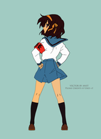 Vector Haruhi by ANsTDs