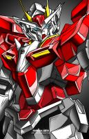 00 RAISER RED FRAME by Xan-04