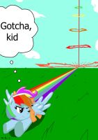 Rainbow Dash Saves Scootaloo (Request) by Sonikku001