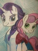 frozen pony sisters by mistresscarrie