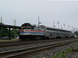 Amtrak Heritage 406 leading 371 by JamesT4