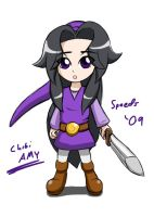 Amy 4 swords - Purple by SpeedyHimura